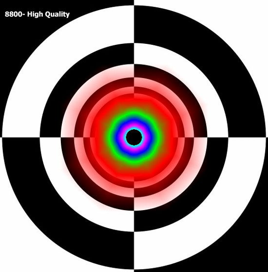8800 Series Image Quality
