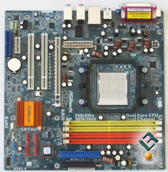 ASRock ALiveNF6G-DVI Motherboard Review