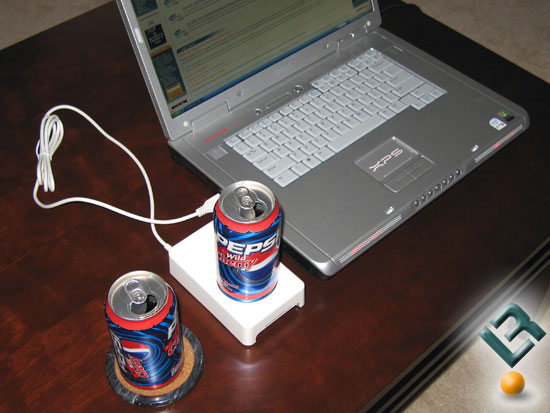 The CoolIT USB Beverage Chiller