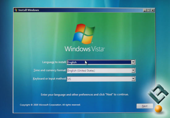 How To Install Windows Vista Ultimate
