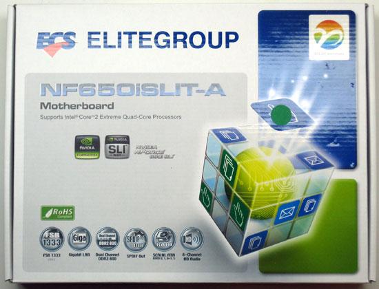 ECS NF650iSLIT-A  650i SLI Motherboard Review