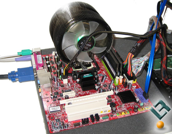 The AMD 690G Test System