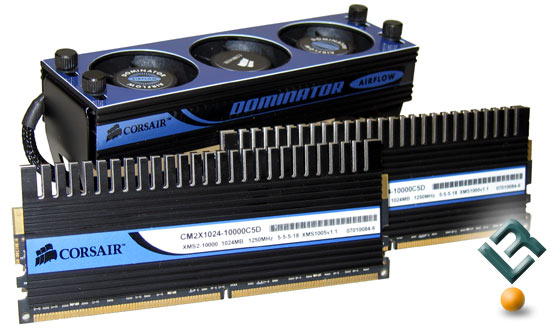 Corsiar PC2-10000 Dominators and Airflow