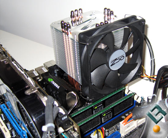 OCZ Vindicator CPU Cooler Test System