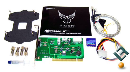 Monsoon II Lite Active TEC CPU Cooling System