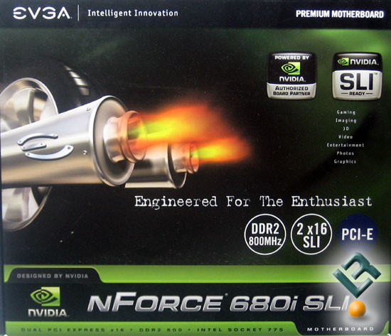 EVGA nForce 680i SLI 775 A1 Motherboard Review