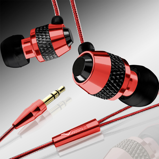 The V-MODA Vibe Red Roxx Earphone Review