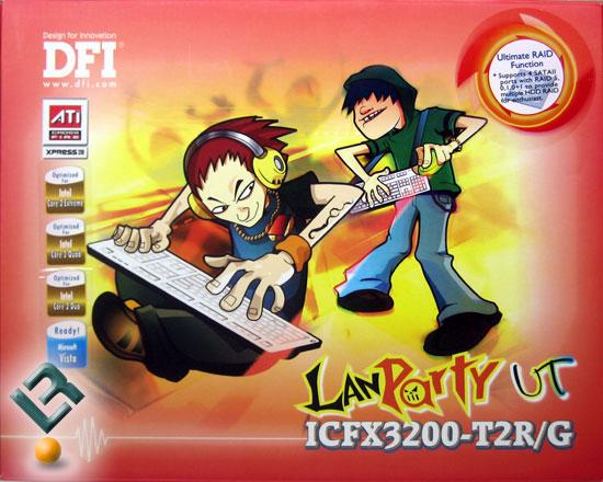 DFI LANPARTY UT ICFX3200-T2R/G Motherboard