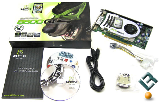 The XFX GeForce 8600 GTS Bundle