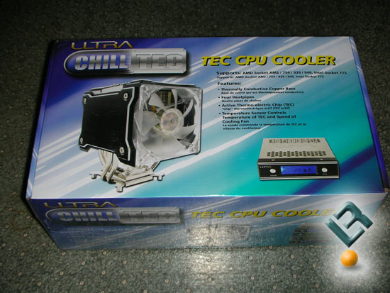 Ultra ChillTec Thermoelectric CPU Cooler
