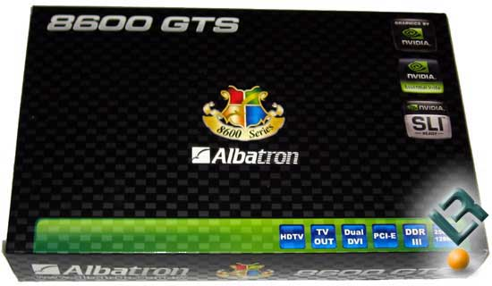 Albatron GeForce 8600 GTS Video Card Review