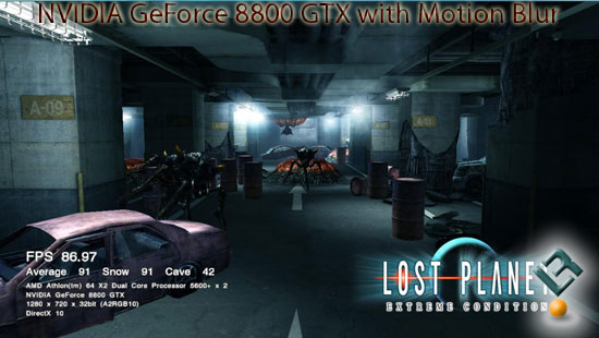 Lost Planet on GeForce 8800 GTX