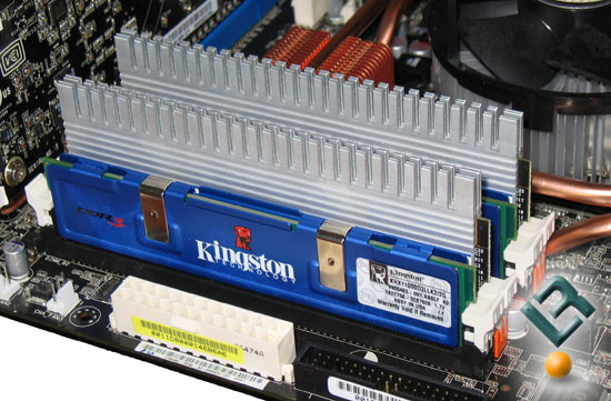 Kingston and Corsair DDR3 Memory Modules