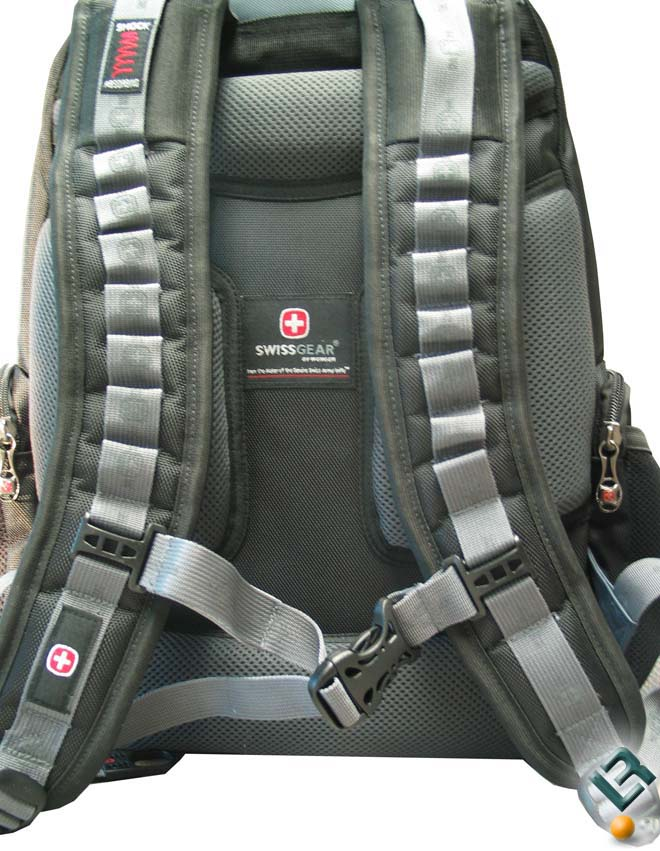 The shoulder straps on the Pegasus