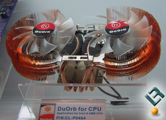 Thermaltake DuOrb For CPU Cooling