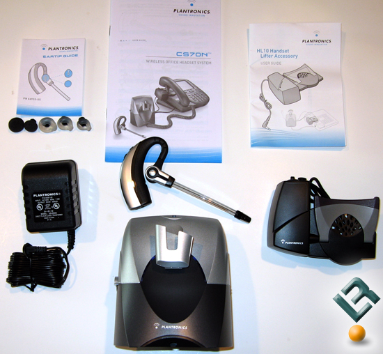 Plantronics CS70N Box Contents