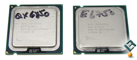Intel 1333FSB Processors Arrive – QX6850 and E6750