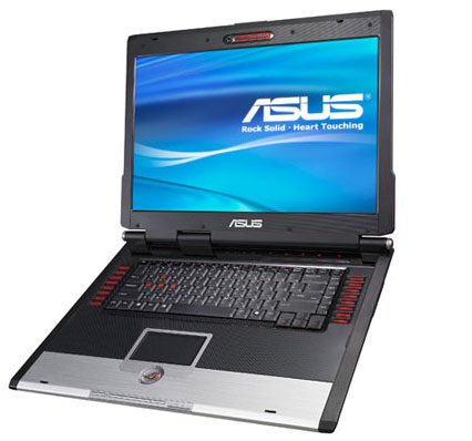 Intel X7800 and the ASUS G2S notebook