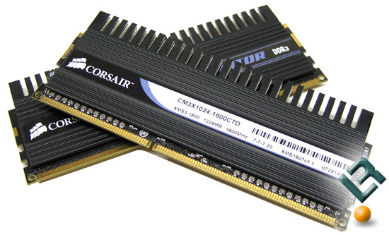 Corsair DOMINATOR 1800MHz CL7 Memory Kit Review