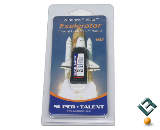 Super Talent Exelerator Ready Boost Flash Drive