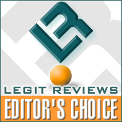 Legit Reviews Editor's Choice Award