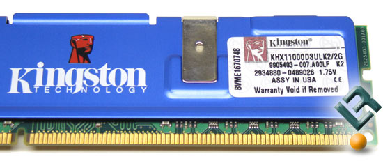 Kingston HyperX DDDR3 Ultra Low Latency Memory Kit