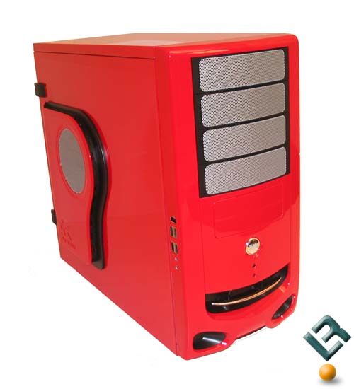 In Win F430 Red Mid Tower ATX Gamers Case Review