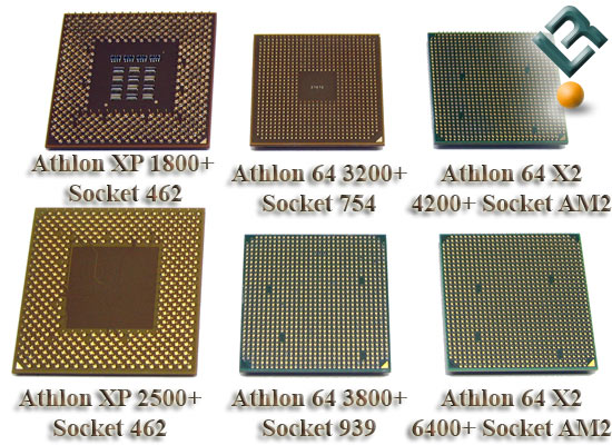 AMD Athlon XP and Athlon 64 Processors