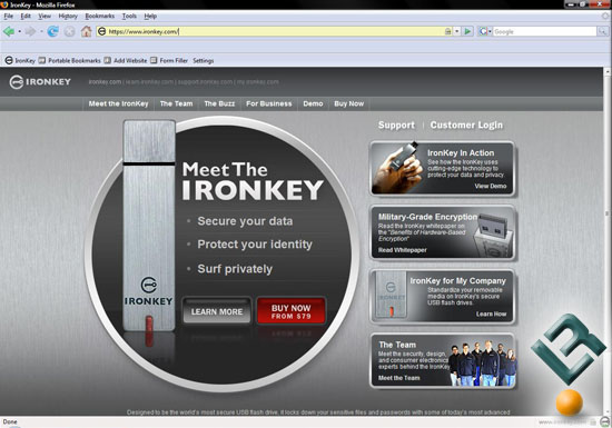IronKey Secure Browser