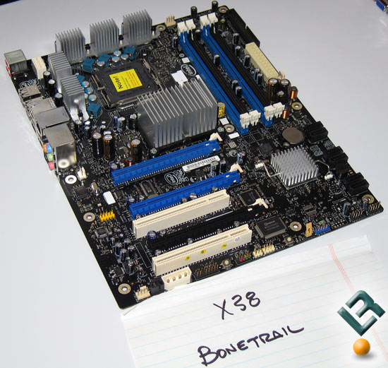 Intel DX38BT BoneTrail Retail Boxed Motherboard