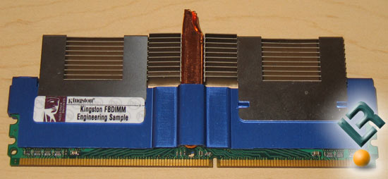 Kingston FB-DIMM Memory Heat Spreaders