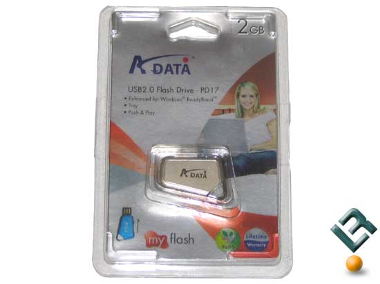 A-DATA PD17 2GB USB Flash Drive Review