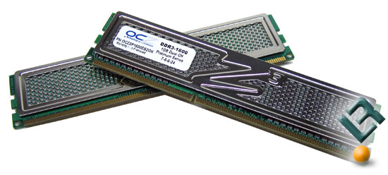 OCZ DDR3 PC3-12800 Part Number OCZ3P1600EB2GK Memory Kit Review