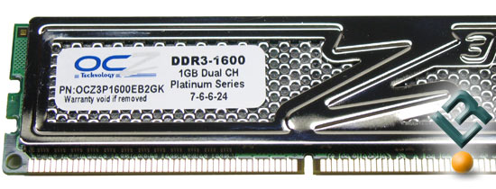 OCZ DDR3 PC3-12800 Part Number OCZ3P1600EB2GK Memory Kit
