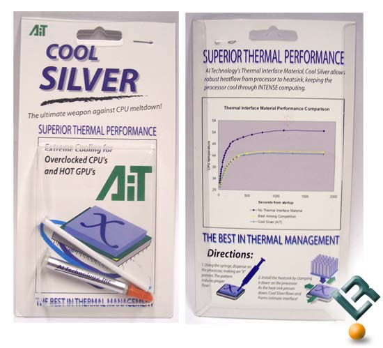 AI Technology Cool Silver Thermal Interface Material