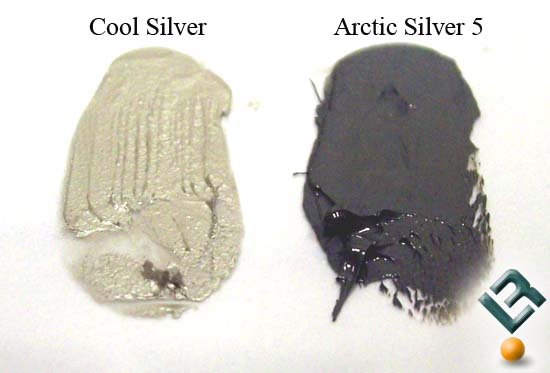 AiT Cool Silver side by side to Arcticsilver 5