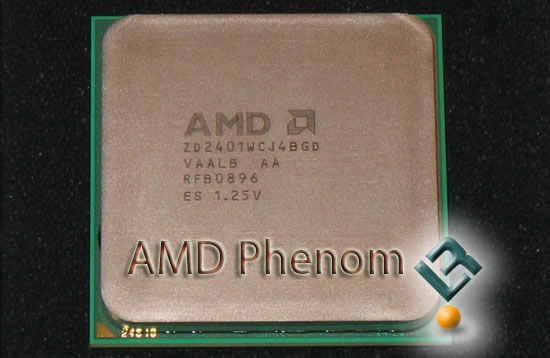 AMD Phenom 9600 2.4GHz Processor