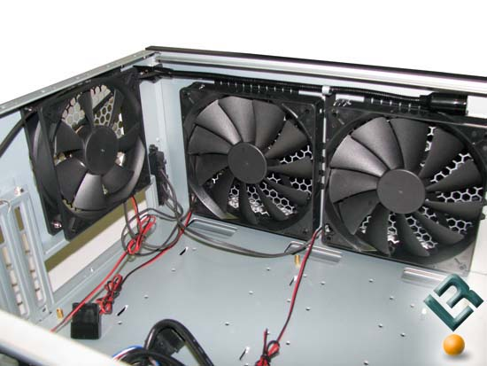 Antec P190 Top Fans and Snake Light