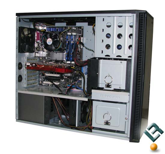 System Installed in the Antec P190