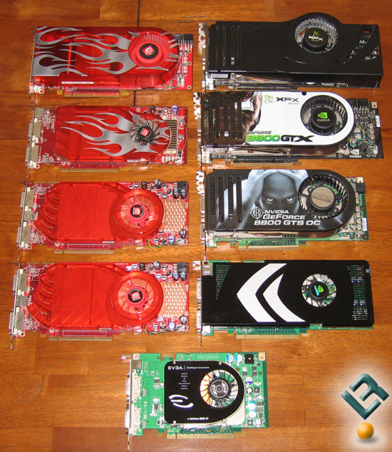 All The Video Cards Tested