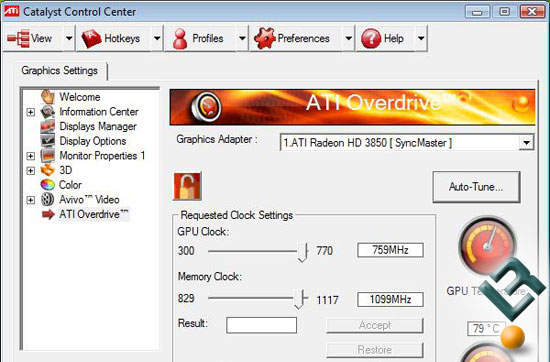 Overclocking The Radeon HD 3850 Video Card