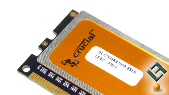 Crucial DDR3 PC3-12800 Part Number BL2KIT12864BA1608K Memory Kit Review