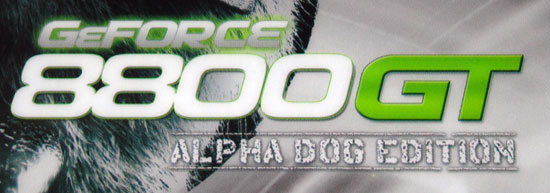 XFX GeForce 8800 GT 512MB Alpha Dog