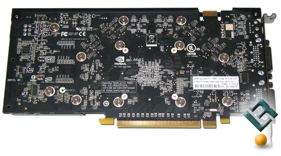 XFX GeForce 8800 GT Alpha Dog Video Card Back