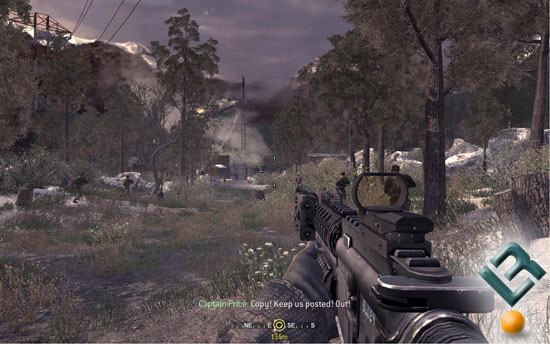 Call of Duty 4 Benchmarking