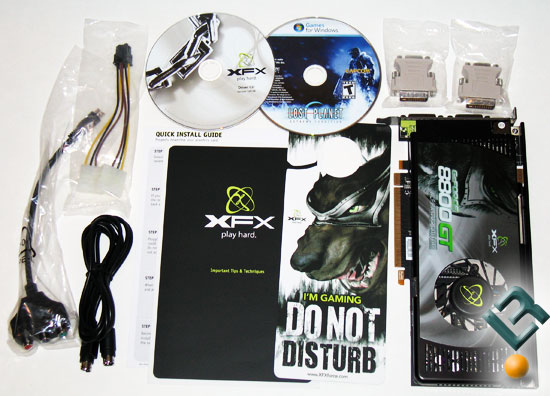 XFX GeForce 8800 GT Alpha Dog Video Card Bundle