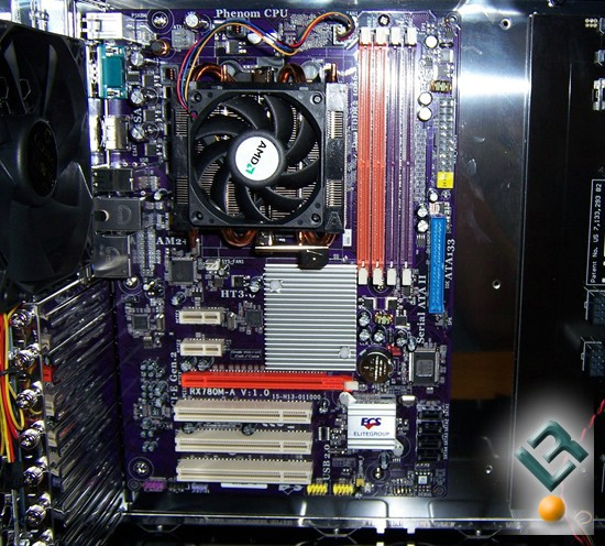 ECS A770M-A Motherboard Review Installation