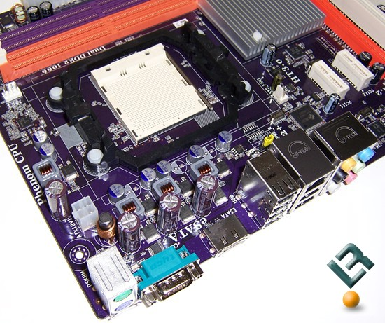 ECS A770M-A Motherboard Review CPU socket