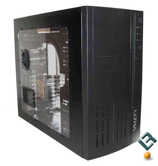 Ultra M998 Midsize Black Tower PC Case Review