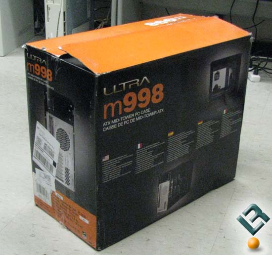 Ultra M998 Shipping Box